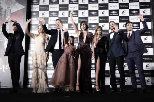 Die Weltpremiere - RESIDENT EVIL: THE FINAL CHAPTER